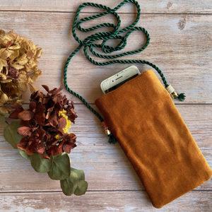 bandolera móvil personalizada con telas