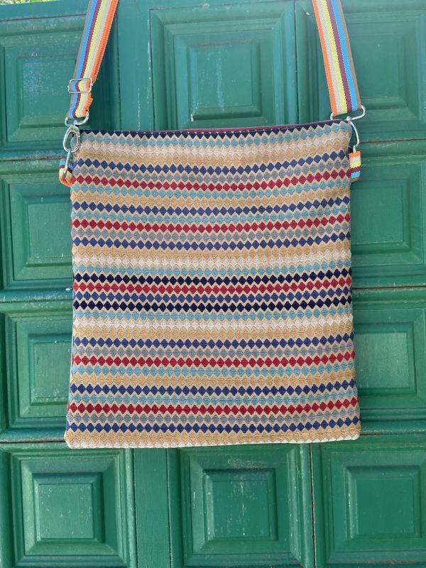 bolso personalizado con telas